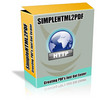 Thumbnail Simple Html 2 Pdf Script Creates A Quick Pdf Document W/MRR.