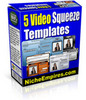 Thumbnail 5 Video Squeeze Templates PLR
