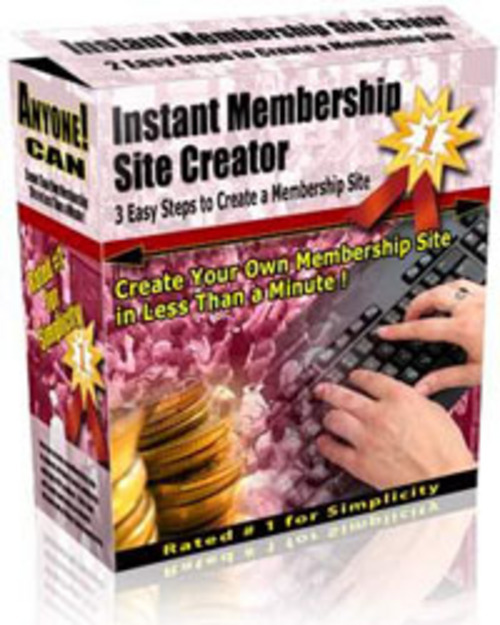 Product picture Instant Membership Site License With Master Resale Rights.