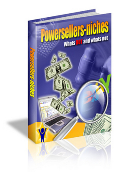 Product picture ebay power seller niches with MRR