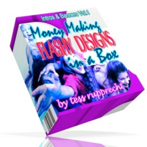 Product picture Money making  flashy design in a box