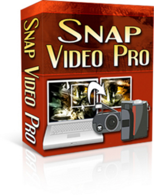 Product picture New! Snap Video Pro - with Resell rights