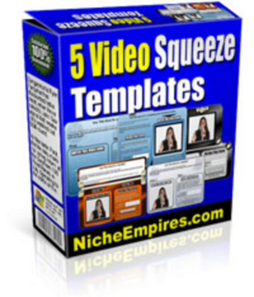 Product picture 5 Video Squeeze Templates PLR