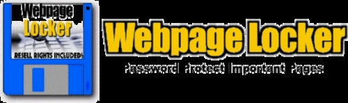 Product picture *New* Webpage Locker - Password Protect 2011