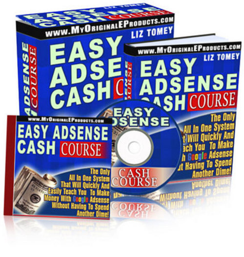 Product picture *NEWEST*Easy Adsense Cash Course With Master Resale 2011