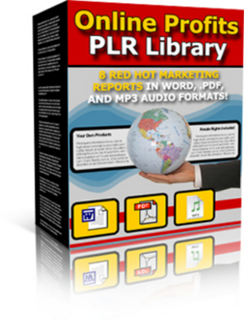 Product picture *NEW* Online Profits PLR Library - With Private Label 2011
